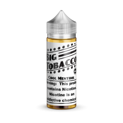 Big Tobacco Cool Menthol 120mL